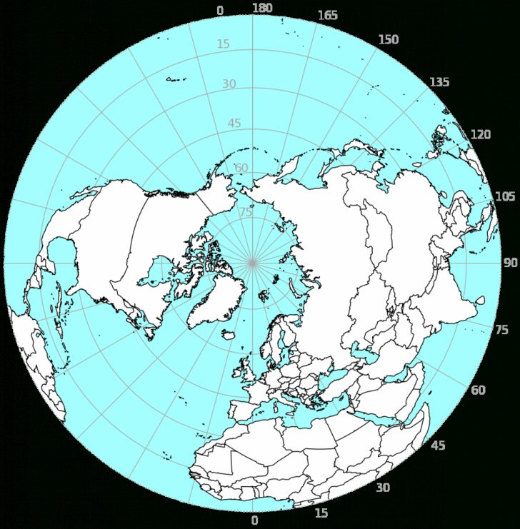 Printable World Map With Hemispheres
