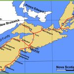 Nova Scotia Maps | Canada | Maps Of Nova Scotia (Ns) Regarding Printable Map Of Nova Scotia