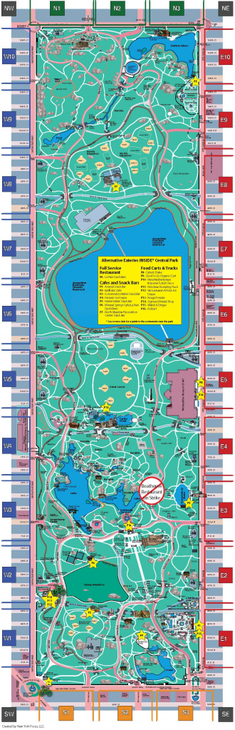 Nyc Central Park Map - Aishouzuo with regard to Printable Map Of Central Park Nyc