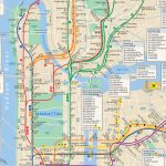 Nyc Subway Map Hi Res Intended For Manhattan Subway Map Printable