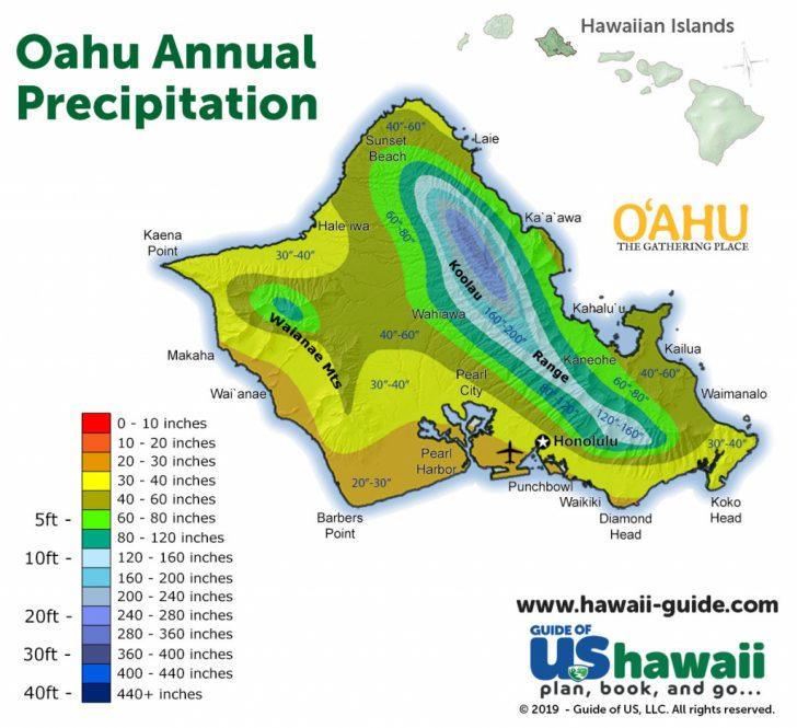 Oahu Map Printable
