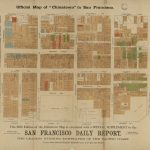 "Official Map Of ""chinatown"" In San Francisco 
