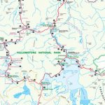Official Yellowstone National Park Map Pdf   My Yellowstone Park For Printable Map Of Yellowstone