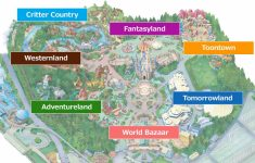 Official]Map|Tokyo Disneyland inside Printable Disneyland Map 2015