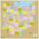 Ohio County Map Printable Ohio County Map With Zip Codes Awesome Intended For Printable Map Of Columbus Ohio