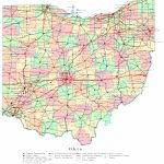 Ohio Printable Map With Regard To Printable State Maps With Cities