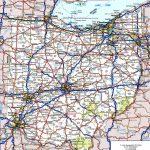 Ohio Road Map Regarding Ohio State Map Printable