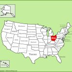 Ohio State Maps | Usa | Maps Of Ohio (Oh) Intended For Ohio State Map Printable