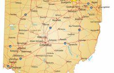 Ohio State Map Printable