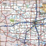 Oklahoma Road Map Throughout Oklahoma State Map Printable