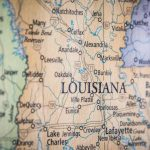 Old Historical City, Parish And State Maps Of Louisiana Within Printable Map Of Lafayette La