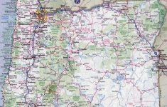Printable Map Of Oregon