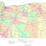 Oregon Printable Map With Printable State Maps