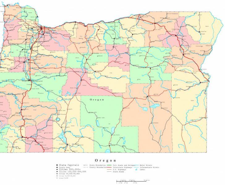 Printable State Maps