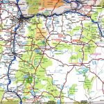 Oregon Road Map Within Washington State Road Map Printable