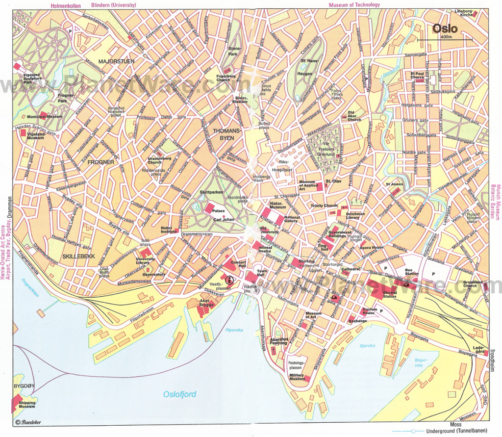Oslo Map - Detailed City And Metro Maps Of Oslo For Download intended for Oslo Map Printable