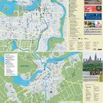 Ottawa Tourist Attractions Map With Regard To Printable Map Of Ottawa