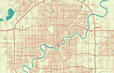 Printable Map Of Edmonton