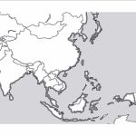 Outline Map Of East Asia With South And Free Blank In Best – Touran inside Free Printable Map Of Asia