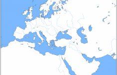 Blank Map Of Europe 1914 Printable