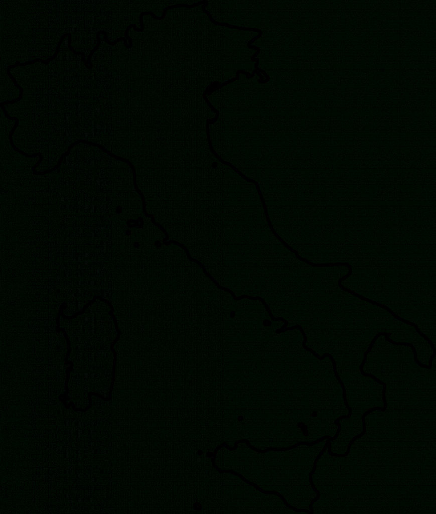 Outline Map Of Italy Printable ~ Free Printable Coloring Page For for Printable Blank Map Of Italy