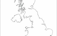 Outline Map Of England Printable