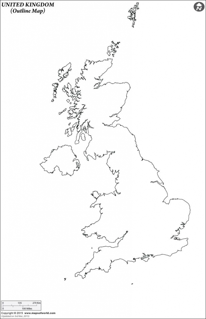 Outline Map Of United Kingdom | Art Projects | Map Outline, Uk within Uk Map Outline Printable