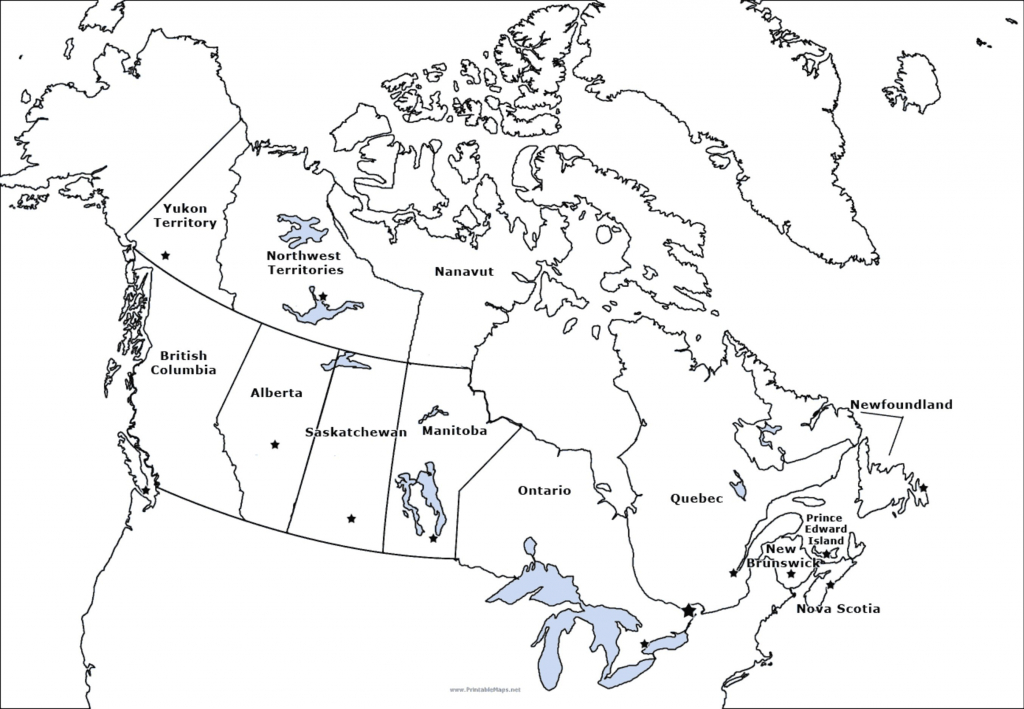 Outline Map Of Us Canada And Mexico New Usa Canada Map Outline Best pertaining to Printable Map Of New Brunswick