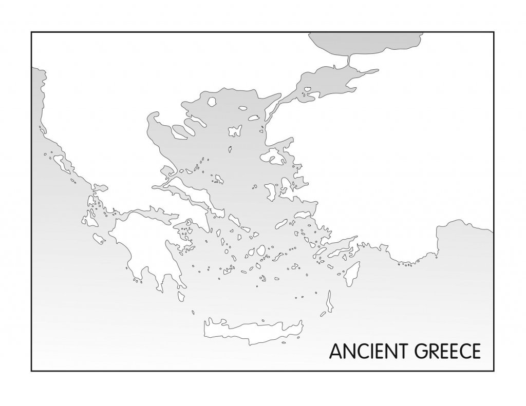 Outline Maps: Ancient Egypt And Greece | Random | Greece, Ancient with regard to Ancient Greece Map For Kids Printables