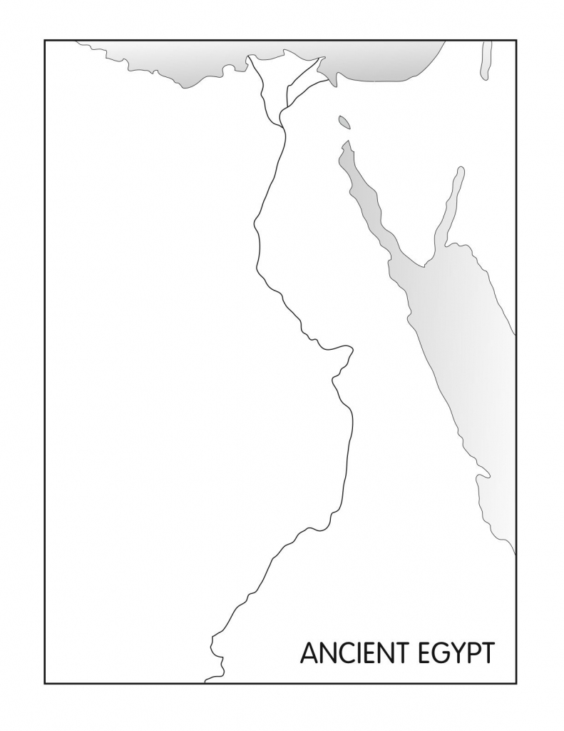 Outline Maps: Ancient Egypt And Greece | Social Studies | Egypt for Ancient Egypt Map Printable