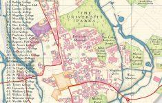 Printable Map Of Oxford