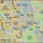 Oxford Maps   Top Tourist Attractions   Free, Printable City Street Map Within Printable Town Maps