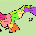 Panama Maps | Maps Of Panama With Regard To Printable Map Of Panama