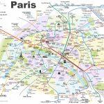 Paris Attractions Map Pdf   Free Printable Tourist Map Paris, Waking With Paris Tourist Map Printable