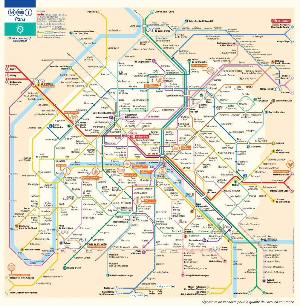 Paris Metro Map – The Paris Pass throughout Printable Paris Metro Map