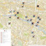 Paris Printable Tourist Map | Sygic Travel With Paris Tourist Map Printable
