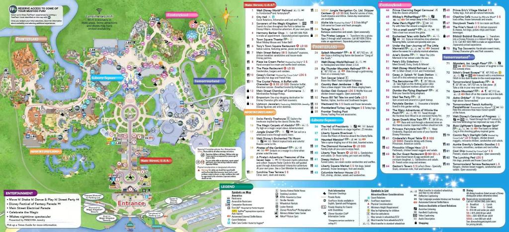Park Maps Disney Wolrd Map World Epcot – Lasvegasguide.co regarding Epcot Park Map Printable