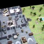 Paul's Star Wars Miniatures: More 3D Map Fun   Imperial Ground Base With Regard To Star Wars Miniatures Printable Maps