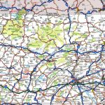 Pennsylvania Road Map Inside Printable Map Of Pennsylvania