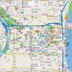 Philadelphia Downtown Map   Philadelphia City Map Printable Regarding Philadelphia City Map Printable