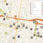Philadelphia Printable Tourist Map In 2019 | Free Tourist Maps Intended For Philadelphia City Map Printable