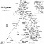 Philippines Printable Blank Map, Royalty Free, Manila | Gift Ideas With Free Printable Map Of The Philippines
