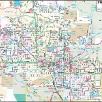 Phoenix Maps | Arizona, U.s. | Maps Of Phoenix With Printable Map Of Phoenix