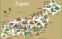 Printable Map Of Japan