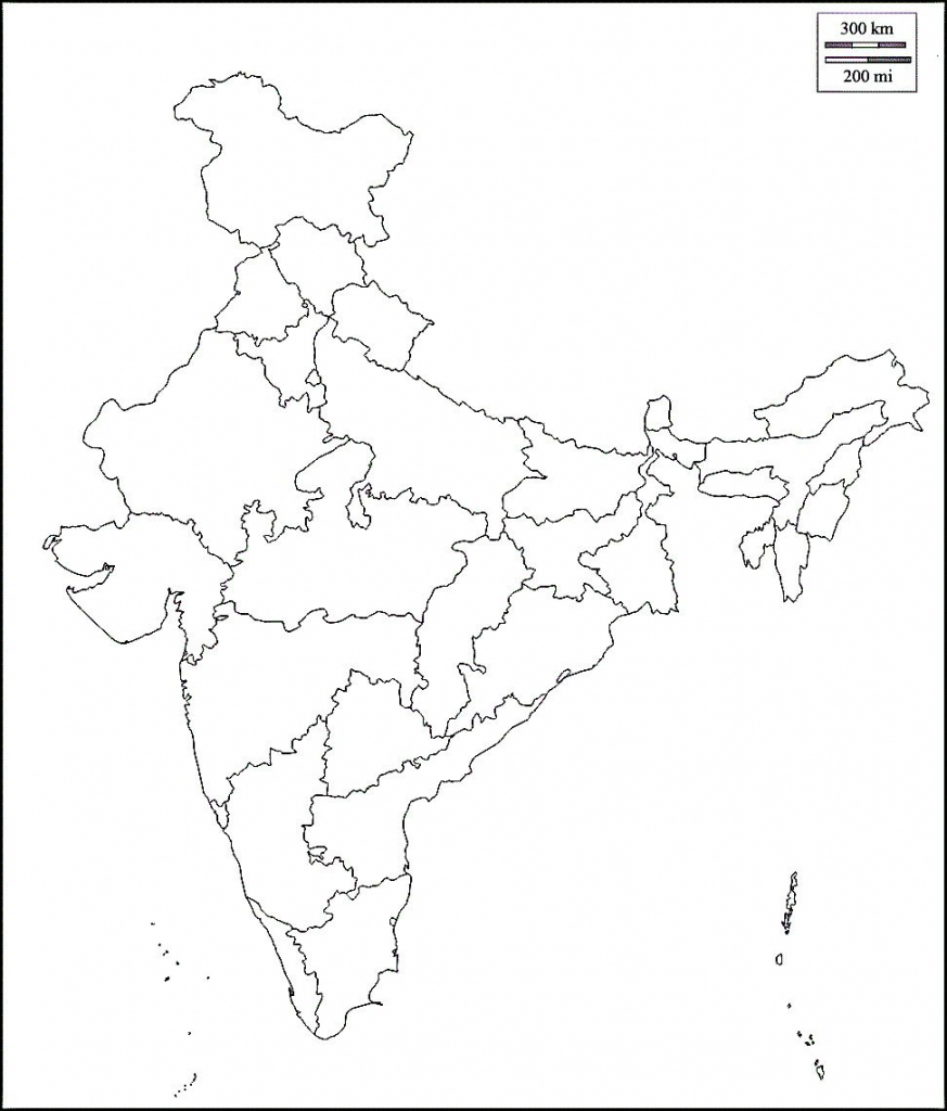 Pin4Khd On Map Of India With States In 2019 | India Map, Map, India in Map Of India Outline Printable