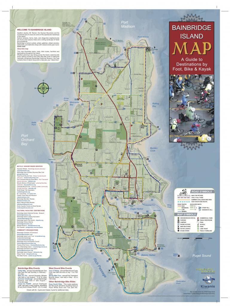Pineden Whitmire On Places To Go | Bainbridge Island Washington with regard to Vashon Island Map Printable
