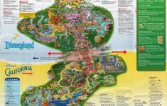 Printable California Adventure Map