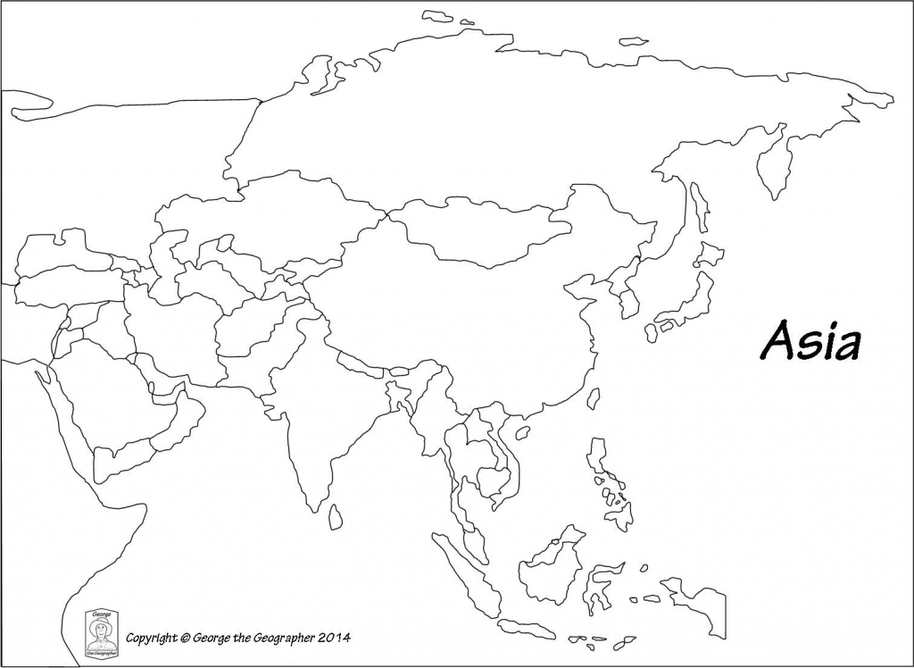 Pinlinda Du Preez On Maps | Asia Map, Blank World Map, Map with regard to Free Printable Map Of Asia