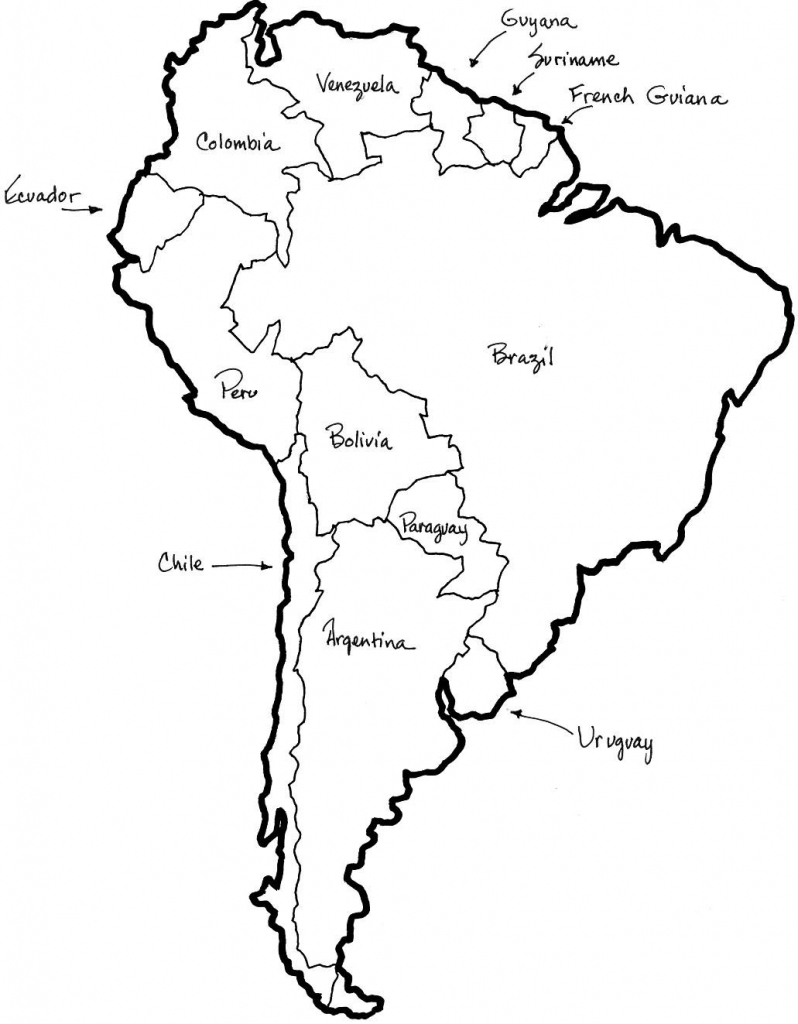 "Pinpriscilla Hicks On ""i Teach, What's Your Super Power with regard to Printable Map Of Central And South America"
