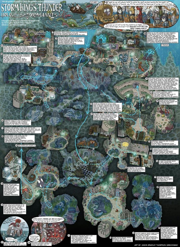 Pinsteve Mcwhorter On Walkthrough Maps   Dungeon Maps, Fantasy within Storm King's Thunder Printable Maps